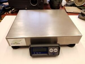 Mettler Toledo Ps60 150 Lbs Stainless Steel Shipping Scale Top Of The Line
