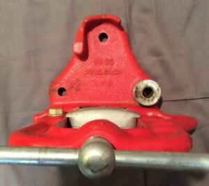 Used Ridgid 23 Bench Pipe Vise 1 8 3 Bender Very Clean D