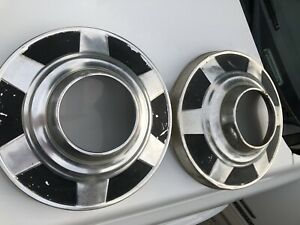 73 87 Chevy Dana 60 Dog Dish 4x4 Hubcaps 12 Set Of 2 Truck 16 16 5 K30 1 Ton