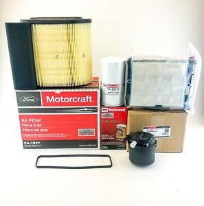 Ford 6 7 6 7l Powerstroke Diesel Motorcraft Oem Oil Air Fuel Filter Kit