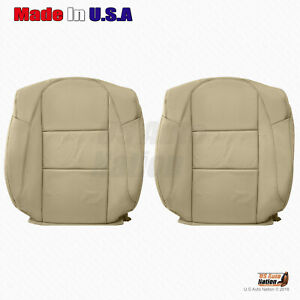 For 2013 2014 2015 Acura Rdx Driver passenger Tops Perforated Leather Cover Tan