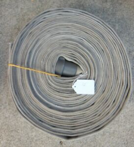 72 Feet Of 1 1 2 Fire Hose W Female 1 5 Nh Aluminum Coupling F Home Or Ranch