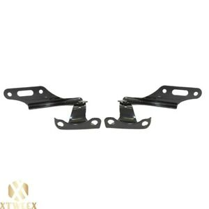 New Front Left And Right Pair Set Of 2 Hood Hinge For Honda Civic element cr v