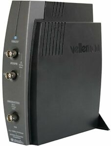 Velleman Pcsgu250 Usb pc Scope Plus Generator 2 Channels