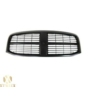 Front Black Grille With Insert For 06 07 08 Dodge Ram 1500 2500 3500 Pickup