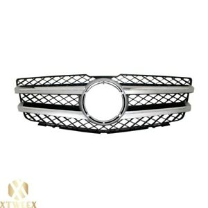 New Front Grille For Mercedes Benz Glk350 With Aluminum Trim Without Logo
