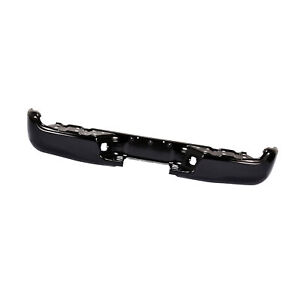 Rear Step Bumper Bar Black For 05 15 Toyota Tacoma Standard extended crew Cab