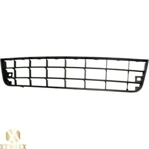 Front Lower Bumper Grille Assembly For 06 09 Volkswagen Rabbit Textured Black