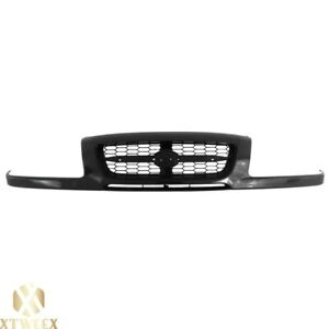 Textured Black Front Grille Assembly Replacement For 99 00 Suzuki Grand Vitara