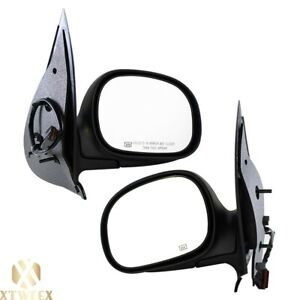 Left Right Side Power Heated Mirror Assembly For 97 02 Ford Expedition