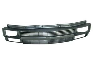 Gray Grille Assembly Replacement For 95 05 Chevrolet Astro W Seal Beam Lamp Type
