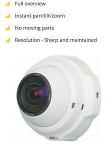 Axis 212 Ptz Network Ip Web Security Color Cam Camera Poe W Accessories