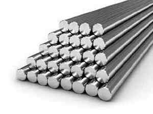 Alloy 304 Stainless Steel Solid Round Bar 2 1 2 X 12 Long