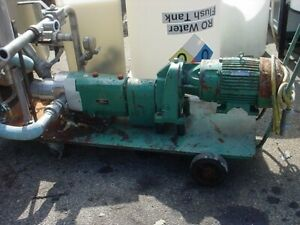 2 Inch Tri clover Stainless Steel Displacement Pump 7 5 Hp