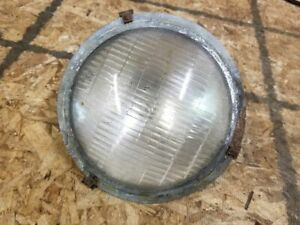 Ford Model T Original Electric Headlight Reflector And Lens