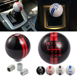 6 Speed Car Speed Manual Gear Shift Knob Ball Shifter Lever Fit For Ford Mustang