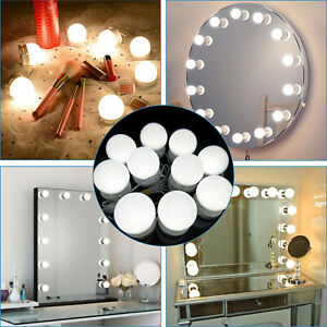 Hollywood Style Led Vanity Mirror Lights Kit For Makeup Dressing Reading