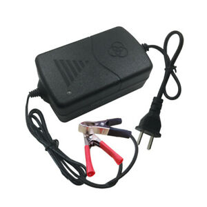 12v Battery Charger For Car Truck Motorcycle Maintainer Amp Volt Trickle