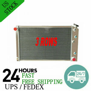 3 Row Radiator For 1975 1979 1976 Chevy Nova 1970 1981 1980 Camaro 26 1 4 Core