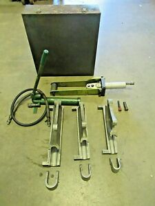 Greenlee 882 Flip Top Bender 1 1 4 1 1 2 2 Inch Emt Pipe Bender T436