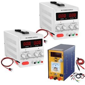 30v 5a 10a Dc Power Supply Precision Variable Digital Adjustable Lab Grade 110v