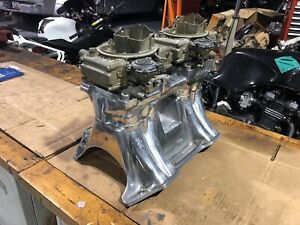 Mopar Chrysler 440 413 Tunnel Ram With Carbs Stage Ii