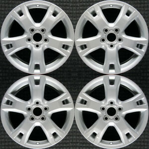 Set 2009 2010 2011 2012 Toyota Rav4 Oem Factory 4261142320 17 Wheels Rims 69555