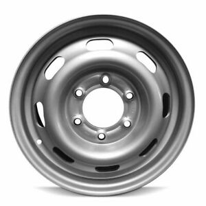 15x6 Inch New Steel Wheel Rim For 2004 2008 Gmc Canyon Chevy Colorado 6 139 7mm