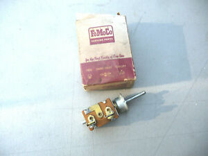Nos 1955 Ford Sunliner Convertible Top Switch 55 Fomoco Rag Top