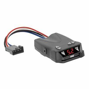 Digital Electric Brake Controller Small Compact Design Pre Wired Plug And Play