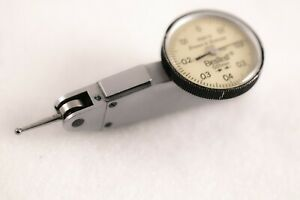 Browne And Sharpe Besttest Dove Tail Dial Indicator 703 13 0 01mm Metric
