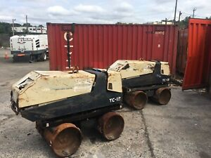 Ingersoll Rand Tc13 Walk Behind Trench Compactor