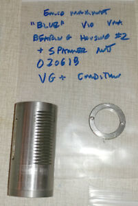Emco Maximat V10 blue Vertical Milling Parts Quill Bearing Housing 2 020618