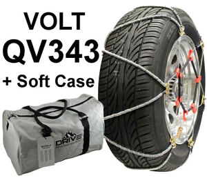 Volt Qv343 Z Cable Tire Snow Chains Cables