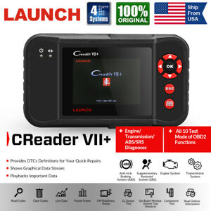 Launch X431 Vii Obd2 Automotive Scan Tool Car Engine Abs Srs Airbag Code Reader