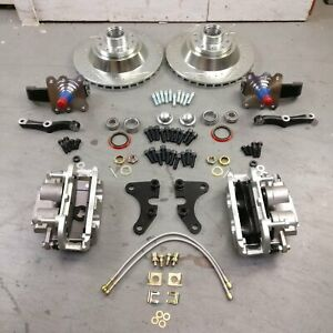 1960 69 Chevy Corvair Mustang 2 Ii Dual Piston Big Brake Kit Stock Deluxe 500 95