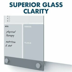 Quartet Quartet Infinity Customizable Magnetic Glass Dry erase Board 11 X 17