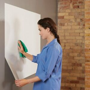 Quartet Anywhere Repositionable Dry erase Surface Self adhesive Sheets 6 X