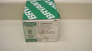 Bryant Msws1277 Infrared Wall Motion Switch Sensor 3w 120 277vac 1200w 10a New