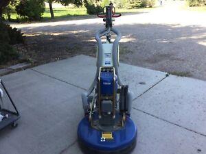 National Concrete Floor Grinder With Pullman Dust Extractor