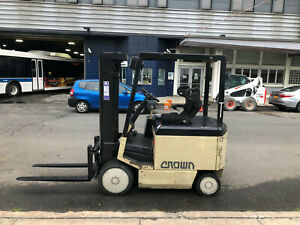 Crown Electric 50fctt 188 Forklift New Battery