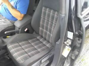 2010 2014 Volkswagen Golf Gti Driver Front Plaid Seat Assembly