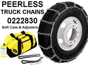 Peerless Truck Tire Snow Chains 0222830