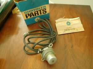 Chrysler Imperial Radio Foot Selector Switch 1958 1959 1960 1819409 Nos