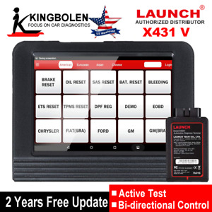 Launch X431 V Pro Obd2 Full System Diagnostic Scanner Fit For Diy Technician