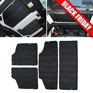 Sound Hardtop Headliner Roof Insulation Kit For 2012 17 Jeep Wrangler Jk 4 door