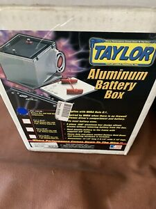 Taylor Cable 48100 Aluminum Battery Box Relocation Kit 3 Pc 13 5x9 5x10