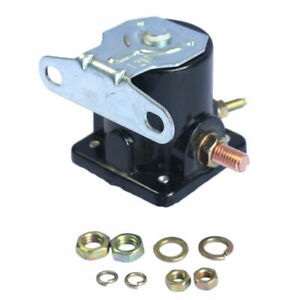 New Starter Solenoid Relay Sw 3 6v Ford Jeep Lincoln Mercury 1958 1991
