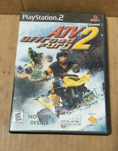 Playstation 2 PS2 - ATV Offroad Fury 2 - Game  Case  Manual