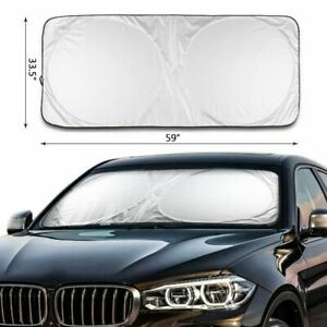 Car Windshield Uv Sun Shade Protector Visor Auto Window Shield Blinds Front